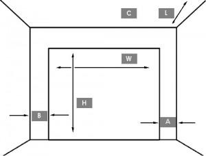 Требования к проёму для установки секционных ворот DoorHan