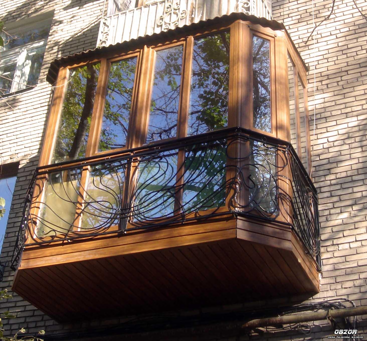 """Балконы под """"ключ"""", остекление, отделка, утепление, ремонт п."""